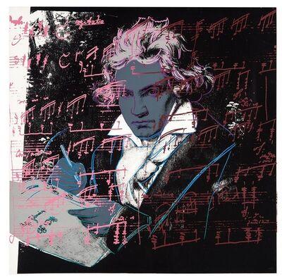 Andy Warhol, 'Beethoven #391', 1987