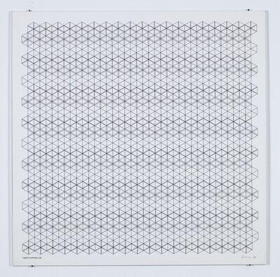 Manfred Mohr, 'P-150 (Hexagons)', 1974