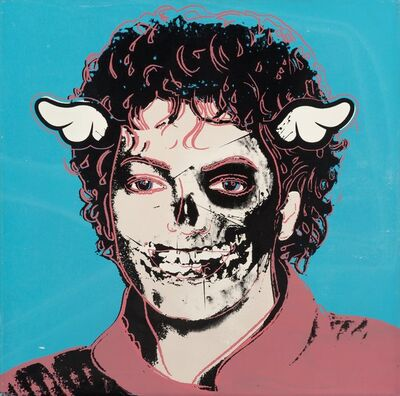 D*Face, 'Michael Jackson (Teal/Pink) from Going Nowhere Fast', 2011