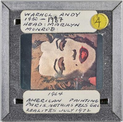 Sebastian Riemer, 'WARHOL, ANDY 1930-1987 HEAD: MARILYN MONROE 1964 AMERICAN PAINTING PARIS. NATHIAS FELS GAL REALITES JULY 1972', 2019