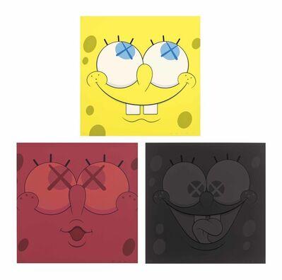 KAWS, 'Sponge Bob ', 2010