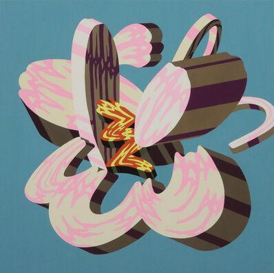 Soichi Yamaguchi, 'Overlap of paint (Flower 2)', 2019