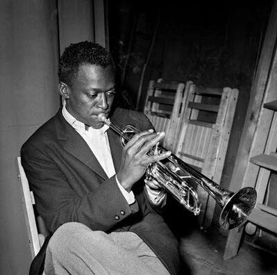 Herman Leonard, 'Miles Davis, New York City', 1949