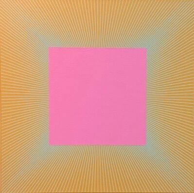 Richard Anuszkiewicz, 'Twilight Magenta Square', 1977-2017