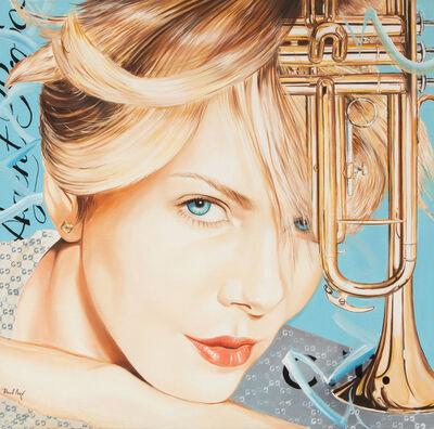 Heiner Meyer, 'Charlize and trumpet', 2020