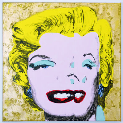 Michael Pybus, 'Gold Corrrupted Marilyn', 2017