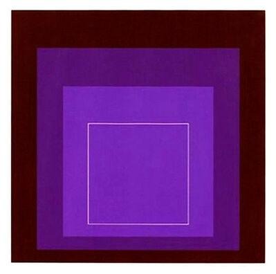 Josef Albers, 'White Line Squares XI Series II ', 1966