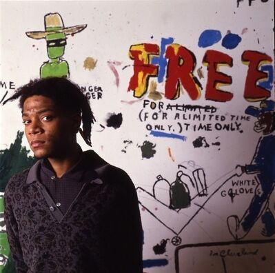 Tseng Kwong Chi, 'Jean Michel Basquiat NY, Free', 1987