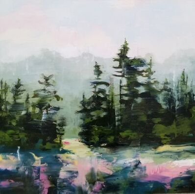 Diana Menzies, 'Into the Forest, in Pink', 2019