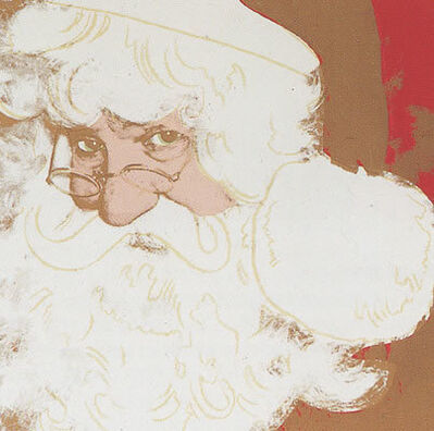 Andy Warhol, 'MYTHS: Santa Claus FS II.266', 1981