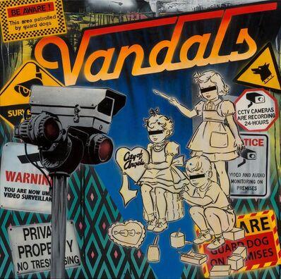 Ben Eine, 'Vandals', 2014