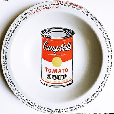 Mike Bidlo, 'Not Warhol (Pappa Al Pomodoro - Il Toscanaccio - NYC)', 2000
