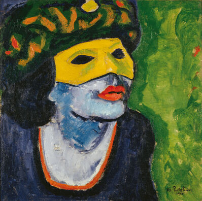 Max Pechstein, 'YELLOW MASK II', 1910