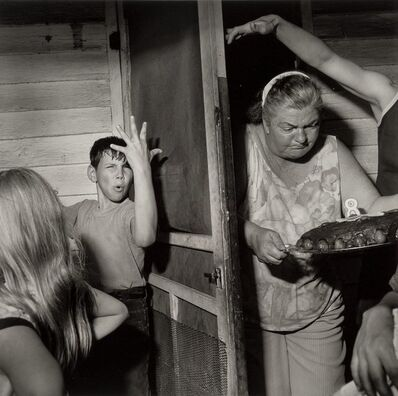 Larry Fink, 'Pat Sabtine's Eighth Birthday Party, April'
