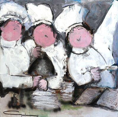 Gerdine Duijsens, 'Joy in the Kitchen', 2015