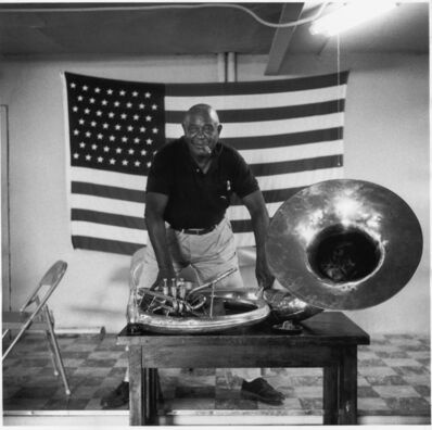 William Claxton, 'Clint Weaver, Kansas City', 1960