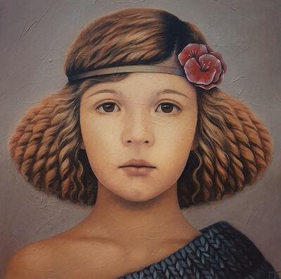 Isabelle Tremblay, 'Dalhia human fairy', 2018