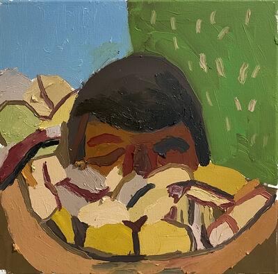 Clintel Steed, 'Head in Cotton', 2020