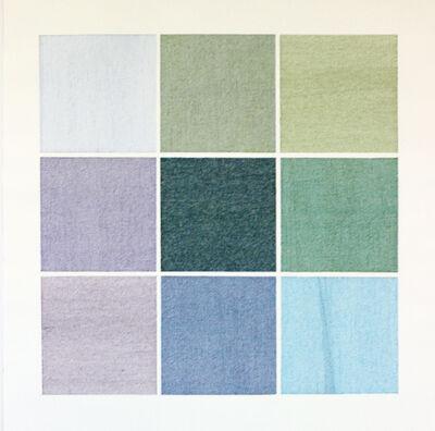 Hannah Sypniewski, 'Grid, Blue'