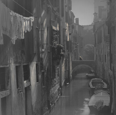 Alexey Titarenko, 'Laundry Hanging along Canal, Venice', 2006