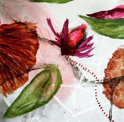 Allison Stewart, 'Aqua Flora #8'