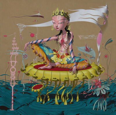 Deng Xinli, 'Immortal Nostalgia 神仙眷之兜率天', 2012