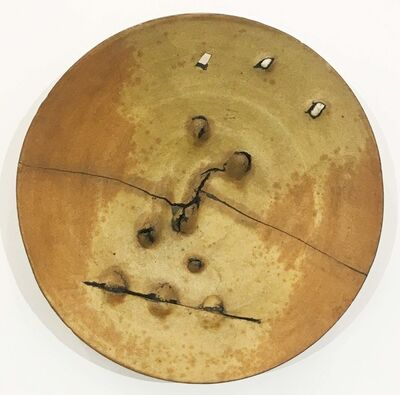 Peter Voulkos, 'Untitled Plate', 1973