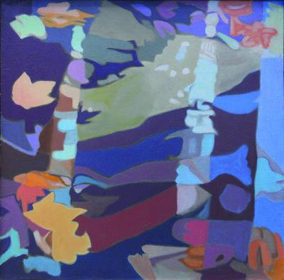 Ralph Wickiser, 'Stream in Fall', 1988
