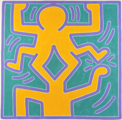 Keith Haring, 'untitled #7', 1988