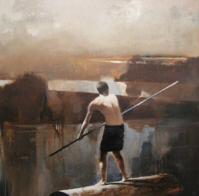 Gary Ruddell, 'First study for Adrift', 2010