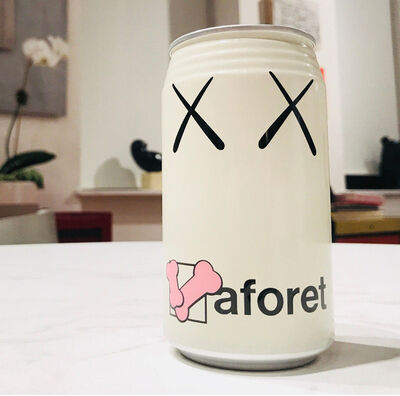 "KAWS, '"" XX-LAFORET"" (Japan Release), 2002, KAWS Designed Pepsi Twist Can, Limited Edition, OPENED', 2002"