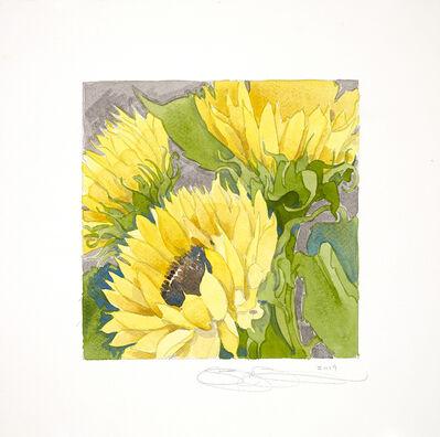 Gary Bukovnik, 'Sunflower Study', 2019