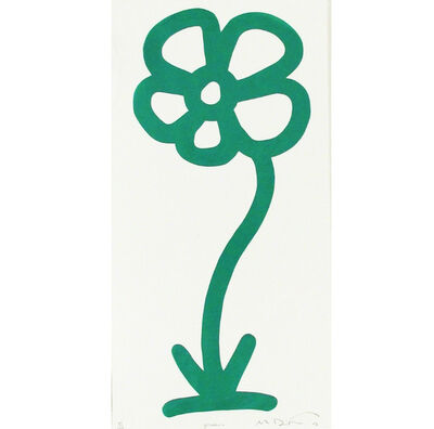 Michael De Feo, 'Green, 15 Anniversary Flower Print Series (Rainbow/Roy G. Biv Series', 2007