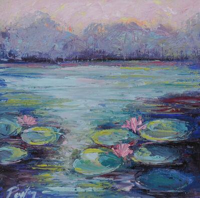 Peyton Hutchinson, 'Sunset Lilypads', 2019