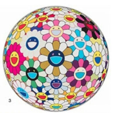 Takashi Murakami, 'Flower ball ', 2014