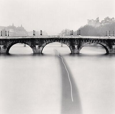 Michael Kenna, 'Barge Passing, Paris, France', 1988