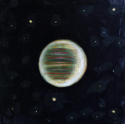 "Sergey Shutov, '#7 from the series ""Planets""', 1996"