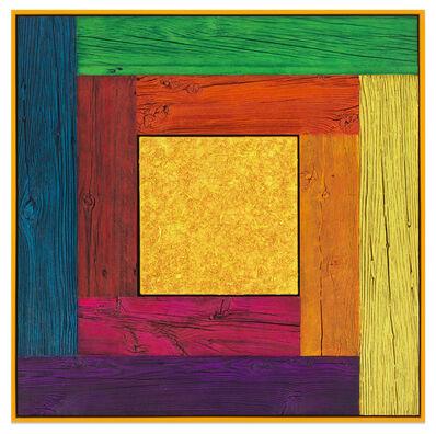 Douglas Melini, 'Untitled (Tree Painting, Full Spectrum/Yellow)', 2019