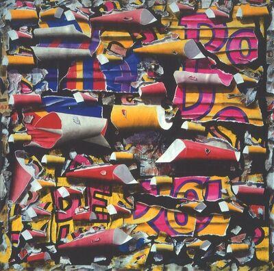 Burhan Dogançay, 'Thorned Posters', 1989