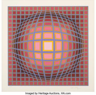 Victor Vasarely, 'Titan-C', c. 1970's