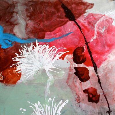 Allison Stewart, 'Aqua Flora #5'
