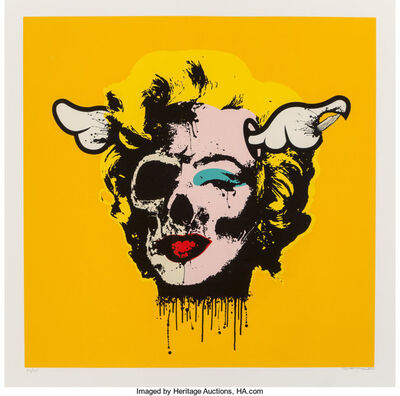 D*Face, 'Pop Tart (Yellow)', 2007