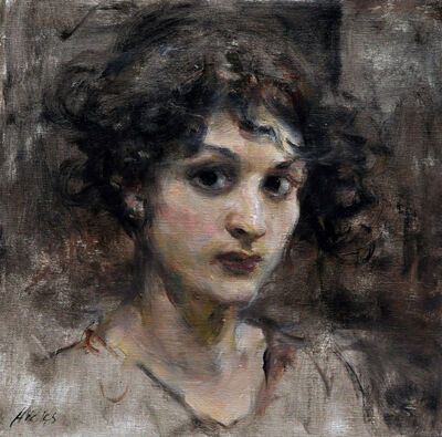 Ron Hicks, 'Portrait of a Young Lady', 2018