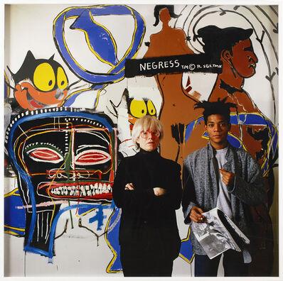 Tseng Kwong Chi, 'Jean-Michel Basquiat and Andy Warhol Collaboration ', 1985