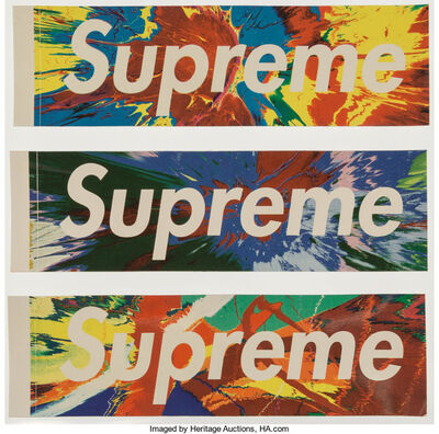 Supreme, 'Hirst Stickers, set of three', n.d.