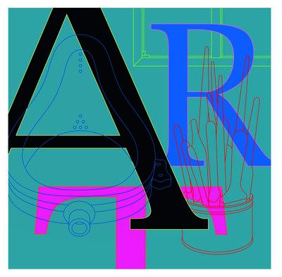 Michael Craig-Martin, 'ART', 2010