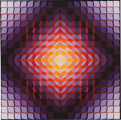 Jean-Pierre Vasarely, 'Cristallisation Orv', 1974