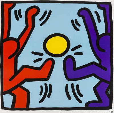 Keith Haring, 'Untitled (Playing People)', After 1990