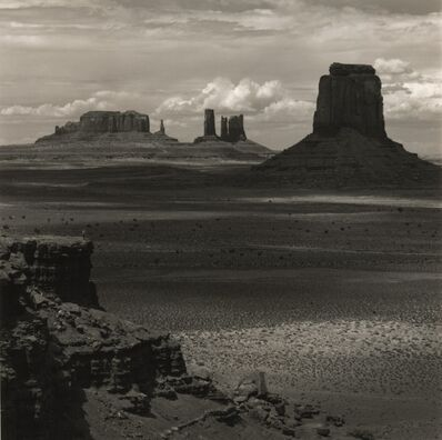 Tseng Kwong Chi, 'Editions From the American West Portfolio: Monument Valley, Arizona (Vista Distant Desert)', 1987