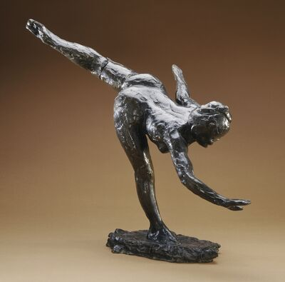 Edgar Degas, 'Grande Arabesque', first modeled ca. 1885-1890; this example cast posthumously